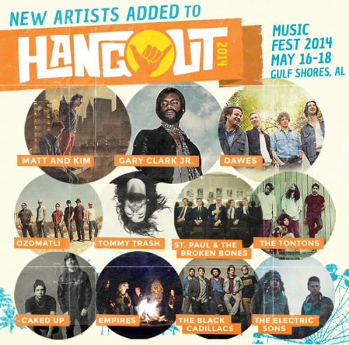 Hangout Music Fest has added new artists